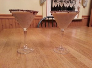 white choc martini